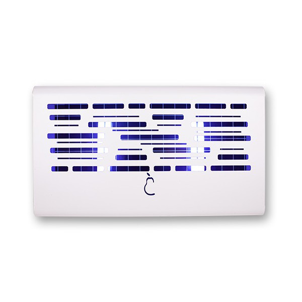 KILL FLIES, DECORATIVE WHITE MOSQUITOES OF ADHESIVE PLATE PM40B
