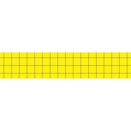 YELLOW ADHESIVE CARDBOARD PLATES (PACK 6UND)