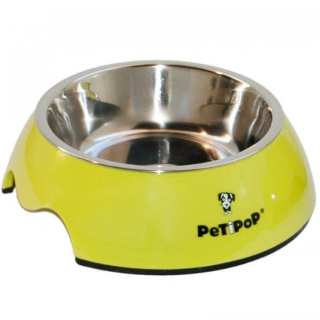 FEEDERS DOGS AND MELAMINE CATS PETIPOP 350ML.