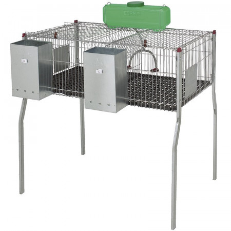 PENTA RABBIT CAGE 2 WITH PLASTIC BASE