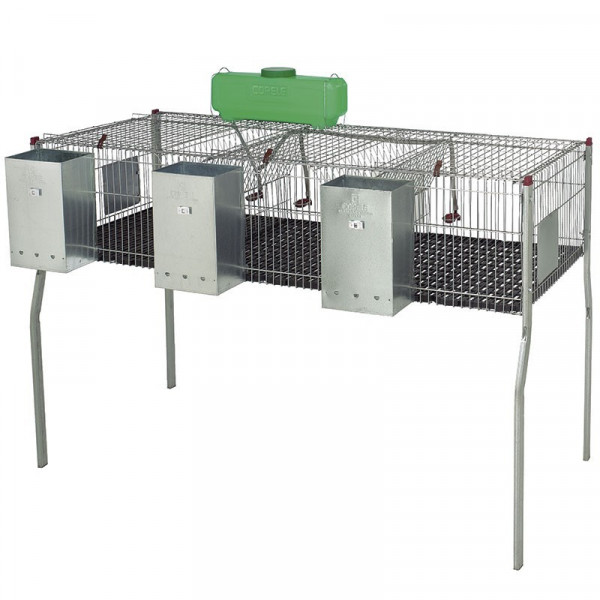 CAGE FOR RABBITS PENTA 3 PLASTIC BASE
