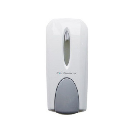SOAP DISPENSER MANUAL WHITE