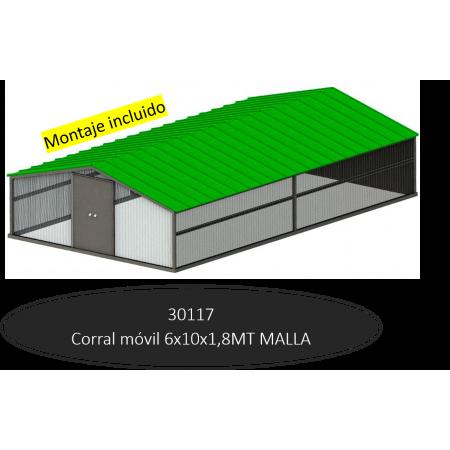 10MTS LONG MOBILE CORRAL MESH