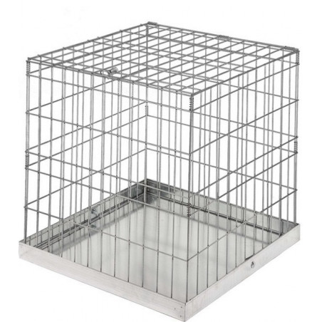 EXPOSURE CAGE WITH TRAY 60X60