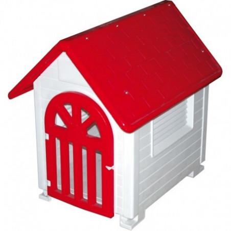 DOGS PLASTIC HOUSE WITH DOOR
