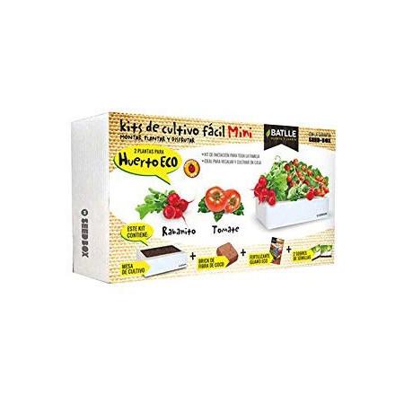 Kit de cultivo mini huerto