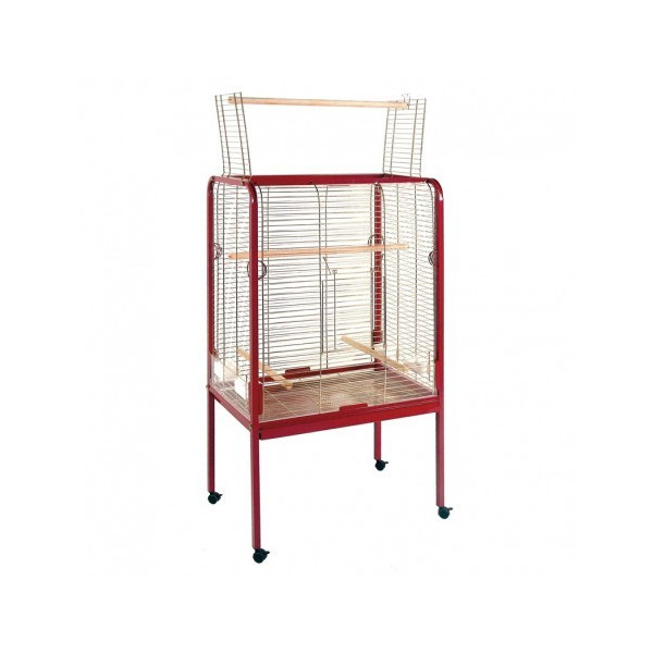 LARGE STRAIGHT PARROT CAGE