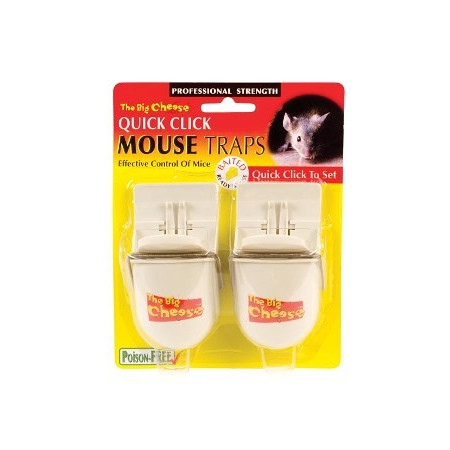 QUICK CLICK RTU MOUSE TRAP- TWINPACK