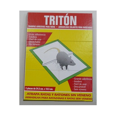 CONTROL RATS AND MICE BY TRAPS GLUE BOARD TRITON
