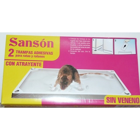 RODENTS GLUE TRAPS, CATCH MICE AND RATS KILLING SANSON
