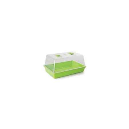 LIGHT GREEN GREENHOUSE BOX