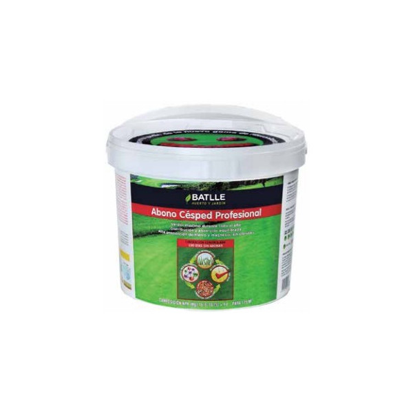 PROFESSIONAL GRASS FERTILIZER (SUMMER-AUTUM) BUCKET 5KG