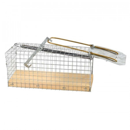 MOUSE MEDIUM CAGE LIVE TRAP RECTANGULAR