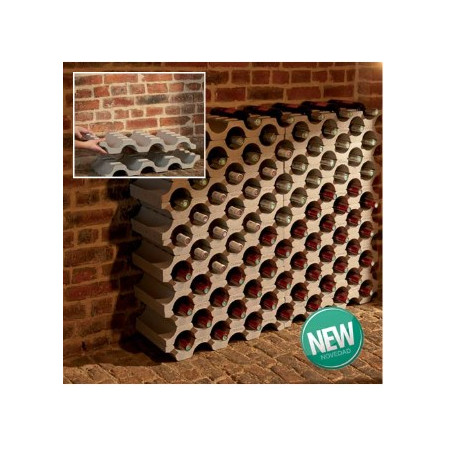 POLYSTYRENE WINE RACK 9 BOTTLES