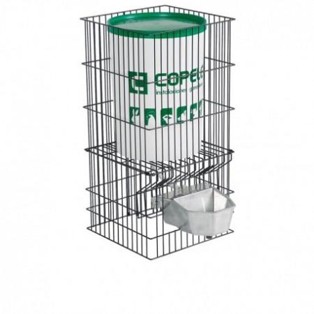 bebedero automático aluminio con depósito 30 litros para perros grandes