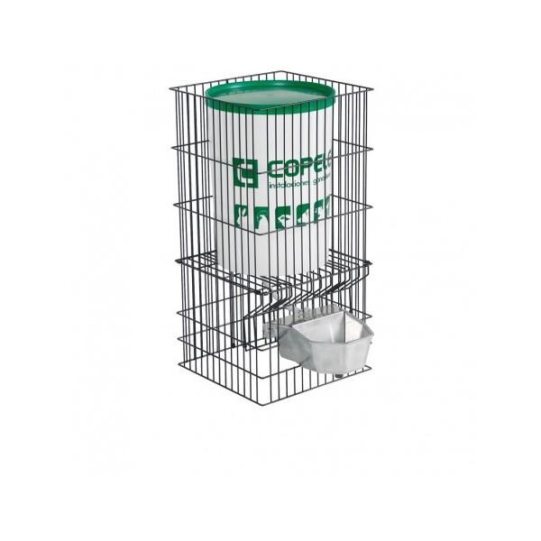 Abreuvoir automatique en aluminium avec réservoir de 30 litres pour grands chiens