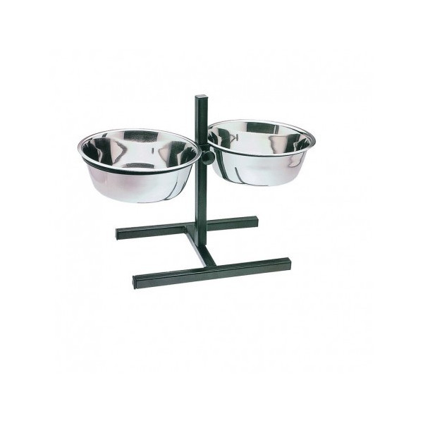 DOUBLE TROUGH ADJUSTABLE SUPPORT