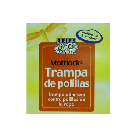 ADHESIVE TRAPS FOR THE CONTROL OF MOTHS OF THE CLOTHES ARIES