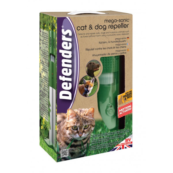 REPELLENT ULTRASONIC ACTIVATED CATS AND DOGS