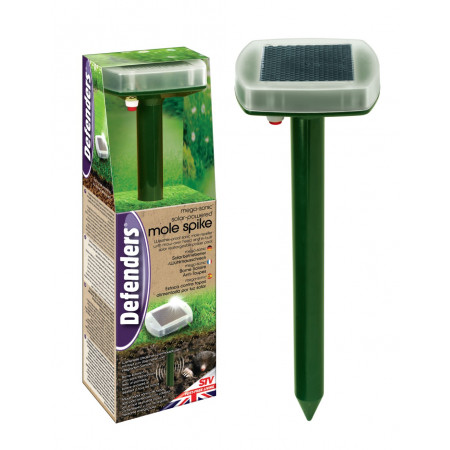 SOLAR POWERED VOLE AND MOLE REPELLER