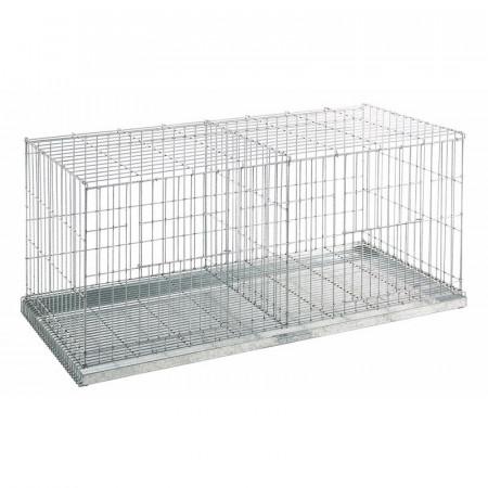 jaula para exposición de palomas