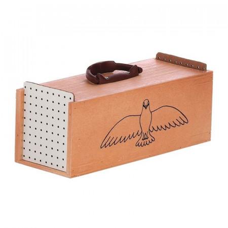 jaula para transporte de palomas