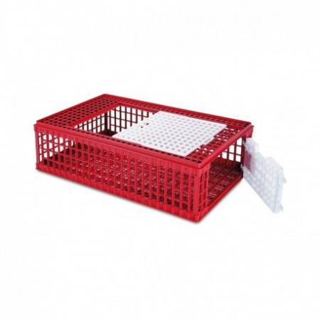 PLASTIC CAGE BIRD TRANSPORTATION