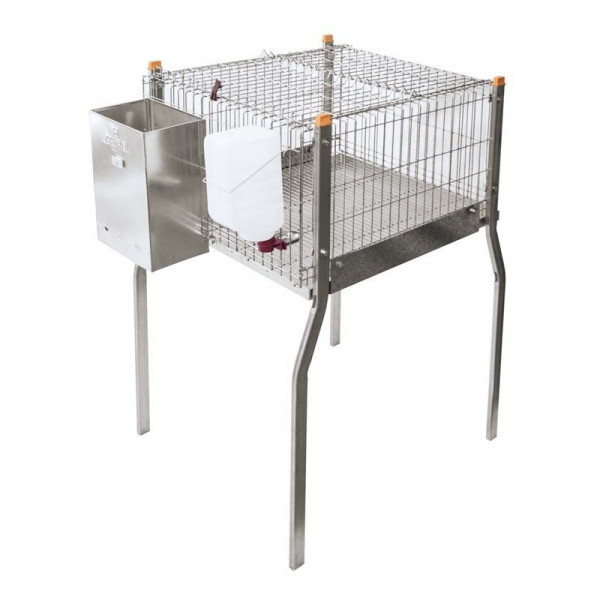 cage for rabbits with and without nest