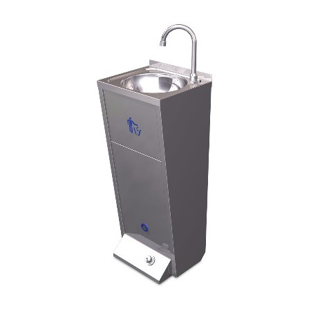 SINK SEARCHABLE C / PUSH STAND A HOT AND COLD WATER XS