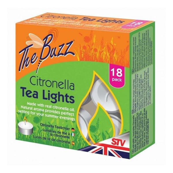 CITRONELLA CANDLES 'TEA LIGHTS' 18u