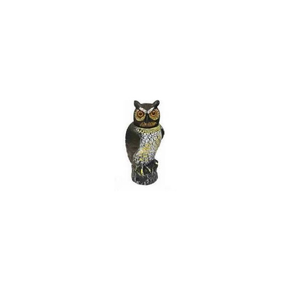 ROTATING HEAD AND SOUND OWL TO HORROR BIRD