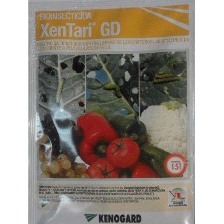 INSECTICIDE BIOLOGIQUE XENTARI 15G