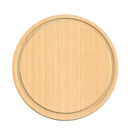 CUTTING BOARD BEECHWOOD 24 CM DIAMETER