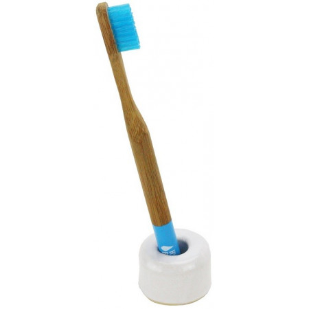 CERAMIC SUPPORT FOR TOOTHBRUSH