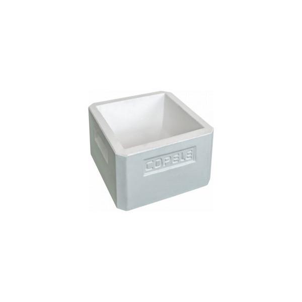 square shaped concrete animal feeder