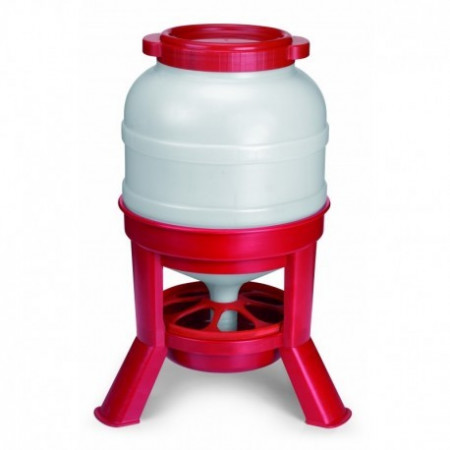 FEEDER PLASTIC WITH LEGS 30L.