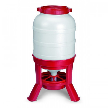 FEEDER PLASTIC WITH LEGS 40L.