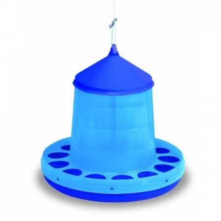 BLUE PLASTIC HOPPER 12 KG.
