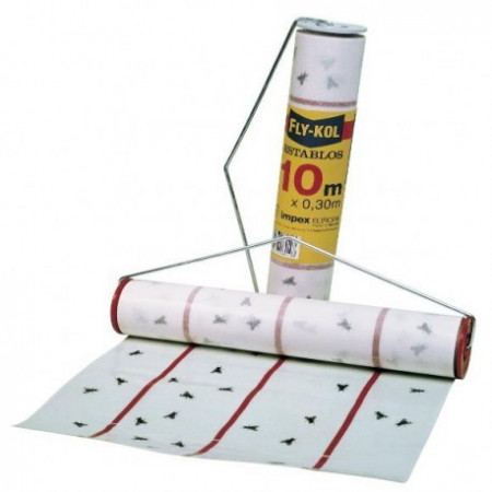 ROLL ADHESIVE TRAPS AND MOSQUITOES FLIES FLY-KOL