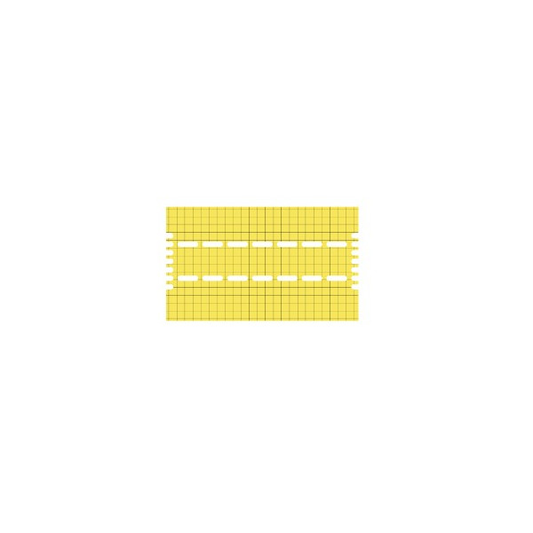 YELLOW SPARE ADHESIVE PLASTIC FOR VISU SUSP. 40-80/ PROTRAP 40-80/VIROTRAP 40-80/ ULTRATRAP 40-80/ FTC 40-80
