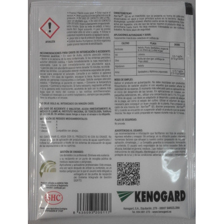 BIOLOGICAL INSECTICIDE XENTARI 15G