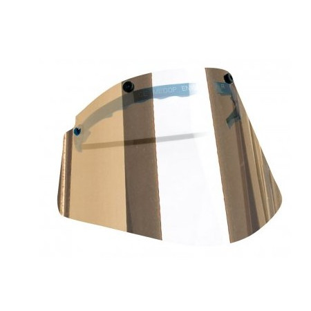VISOR POLYCARBONATE GOLD INFRARED GRADES 4-5