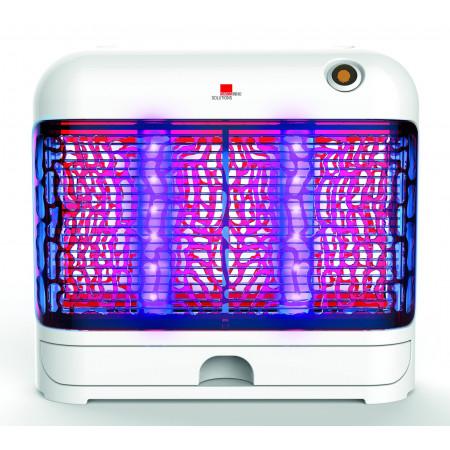 exterminador insectos voladores luz led 24W
