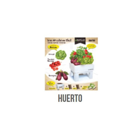 KIT BOX - SEED BOX HUERTO