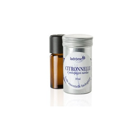 ESSENTIAL OIL CITRONELA BIO 10ML LADRÔME