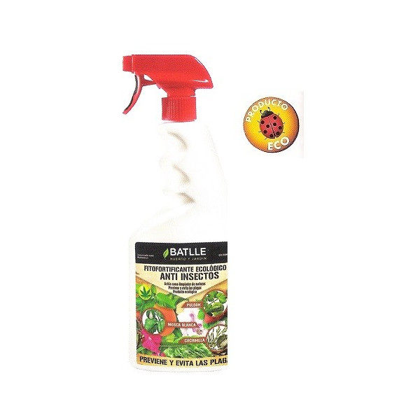 ANTI INSECTOS ECOLÓGICO USO 750ML