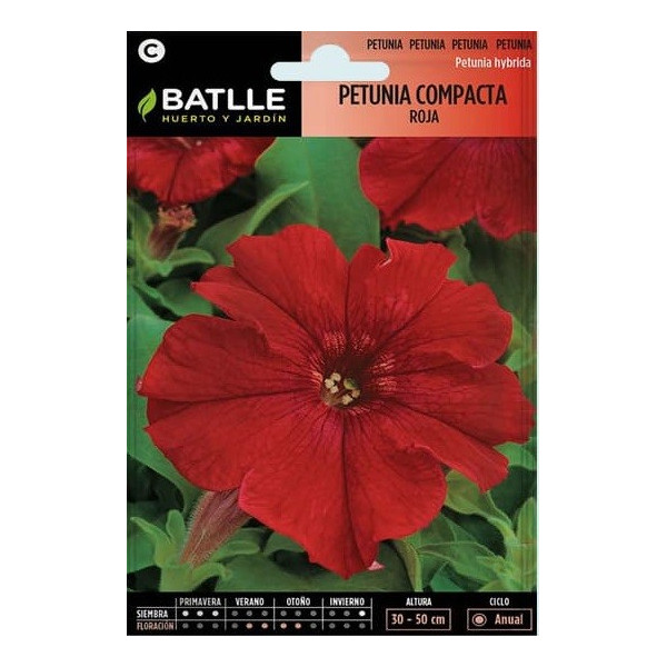 RED COMPACT PETUNIA