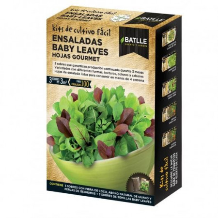 BABY LEAVES SALADS GOURMET LEAVES