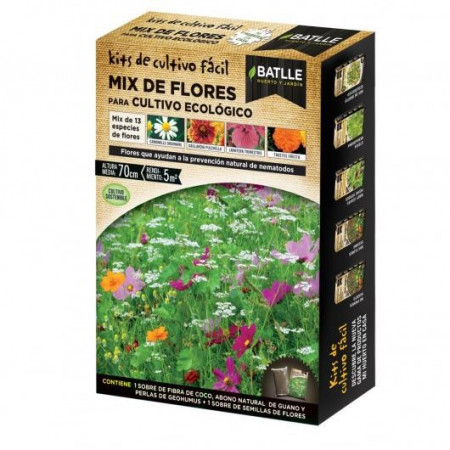 ECOLOGIC FARMING FLOWERS MIX