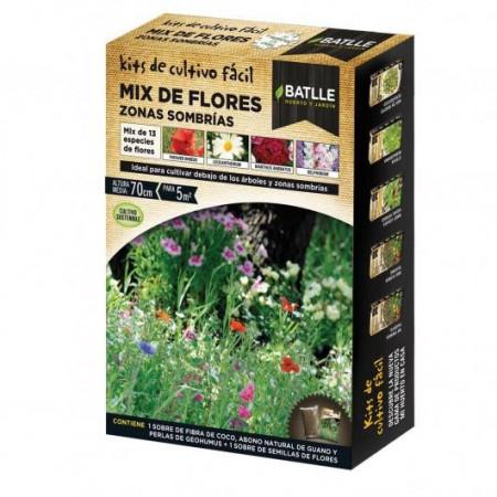 DE ZONES OMBRAGÉES FLOWERS